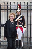 Muriel Pénicot  Obsèques de Jacques Chirac Lundi 30 Septembre 2019 église Saint Sulpice Paris