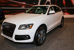 CHARLOTTE, NORTH CAROLINA - NOVEMBER 20, 2014: Audi Q5 on display during the 2014 Charlotte International Auto Show at the Charlotte Convention Center.