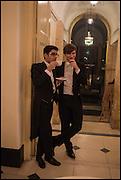 ISSADASU PATEL; TOM JOHNSON,, Oxford University Polo club Ball, Blenheim Palace. Woodstock. 6 March 2015