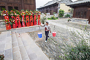 street scene, Jianshui Market, Yunnan Province, China