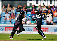 Cricket - 2021 Season - The Hundred: Women - Northern Superchargers vs Manchester Originals - Emerald Headingley, Leeds - Thursday 12th August 2021<br /> <br /> Mignon du Preez and Cordelia Griffith of Manchester Originals steered their team through the final stages of an eight wicket victory, at Emerald Headingley. <br /> <br /> COLORSPORT/ALAN MARTIN