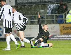 Falkirk's John Baird. Falkirk 4 v 1 Fraserburgh, Scottish Cup third round, played 28/11/2015 at The Falkirk Stadium.