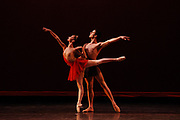 "9/14/2008 -- GASTON DE CARDENAS/EL NUEVO HERALD -- MIAMI --  Jordan Elizabeth Long and Miguel Angel Blanco from the Cuban Classical Ballet of Miami perform "" Diana and Acteon"" at the XIII International Ballet Festival of Miami."