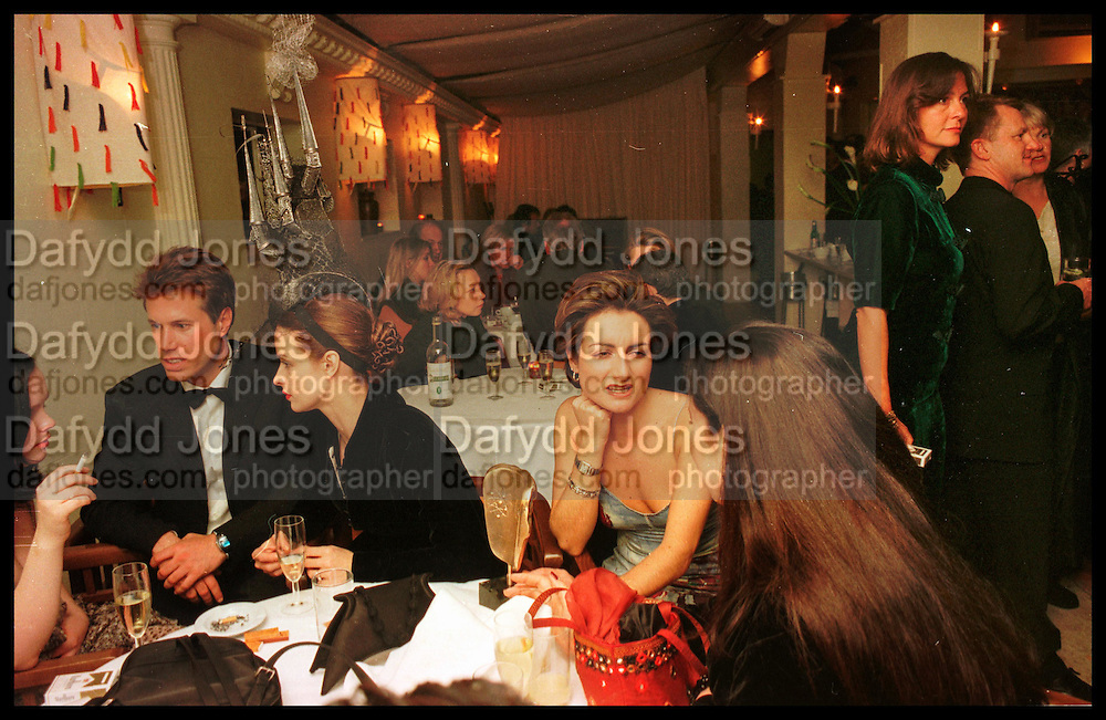 Tatler Bafta party hosted by Jane Procter and Charles Finch. Lola's. Upper St. London. April 1999.