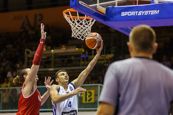 Sisko Zan Mark #4 of Sloveina during friendly basketball match between National teams of Slovenia and Hungary on day 1 of Adecco Cup 2017, on August 4th in Arena Tabor, Maribor, Slovenia. Photo by Grega Valancic/ Sportida