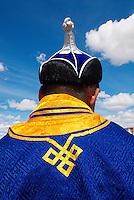 Mongolie. Province de Bayan Olgii. Tournoi de lutte pour la fete du Naadam de Bayan Olgii. // Mongolia. Bayan Olgii province. wrestling tournament for the Naadam festival at Bayan Olgii.