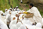 Africa, Ethiopia, Lalibela, Meskel (or Maskal), in the Ethiopian Orthodox and Eritrean Orthodox Churches, is an annual religious holiday commemorating the discovery of the True Cross by Queen Helena (Saint Helena) in the fourth century.