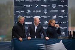 Lansink Jos (BEL), Caroll Enda (IRL)<br /> Grand Prix CSI 2*<br /> Longines Global Champions Tour - Antwerp 2015<br />  © Hippo Foto - Dirk Caremans<br /> 25/04/15