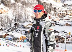 12.02.2020, Zwölferkogel, Hinterglemm, AUT, FIS Weltcup Ski Alpin, Abfahrt, Herren, 1. Training, Streckenbesichtigung, im Bild Wolfgang Maier (DSV Sportdirektor Ski Alpin) // Wolfgang Maier DSV sports director Alpine Skiing during the course inspection before his 1st training run of men's Downhill of FIS Ski Alpine World Cup at the Zwölferkogel in Hinterglemm, Austria on 2020/02/12. EXPA Pictures © 2020, PhotoCredit: EXPA/ Johann Groder