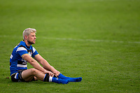 Bath Rugby's Rhys Priestland looks on at the end of the match<br /> <br /> Photographer Bob Bradford/CameraSport<br /> <br /> Gallagher Premiership Round 1 - Bath Rugby v Newcastle Falcons - Saturday 21st November 2020 - The Recreation Ground - Bath<br /> <br /> World Copyright © 2020 CameraSport. All rights reserved. 43 Linden Ave. Countesthorpe. Leicester. England. LE8 5PG - Tel: +44 (0) 116 277 4147 - admin@camerasport.com - www.camerasport.com