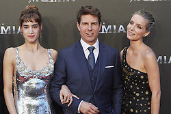 May 29, 2017 - Madrid, Madrid, Spain - Tom Cruise, Annabelle Wallis, Sofia Boutella attended 'The Mummy' film premiere at Callao Cinema on May 29, 2017 in Madrid (Credit Image: © Jack Abuin via ZUMA Wire)