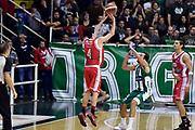 DESCRIZIONE : Avellino Lega A 2014-2015 Sidigas Avellino Grissinbon Reggio Emilia<br /> GIOCATORE : Federico Mussini<br /> CATEGORIA : tiro three points controcampo<br /> SQUADRA : Grissinbon Reggio Emilia<br /> EVENTO : Campionato Lega A 2014-2015<br /> GARA : Sidigas Avellino Grissinbon Reggio Emilia<br /> DATA : 15/11/2014<br /> SPORT : Pallacanestro<br /> AUTORE : Agenzia Ciamillo-Castoria/GiulioCiamillo<br /> GALLERIA : Lega Basket A 2014-2015<br /> FOTONOTIZIA : Avellino Lega A 2014-2015 Sidigas Avellino Grissinbon Reggio Emilia<br /> PREDEFINITA :