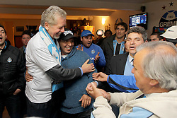 José Fortunati durante ato de adesão da torcida Geral do Grêmio a sua campanha para  re-eleição a prefeitura de Porto Alegre. FOTO: Jefferson Bernardes/Preview.com