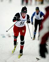 Langrenn, 27. feburar 2003, Junior NM,  Betty Ann Nilsen, Torridal