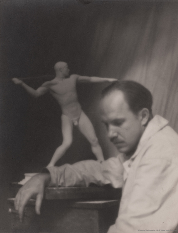 Paul Manship, sculptor, 1921