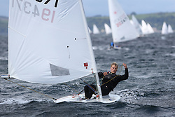 Day 4 NeilPryde Laser National Championships 2014 held at Largs Sailing Club, Scotland from the 10th-17th August.<br /> <br /> 194371, Will HACKNEY<br /> <br /> Image Credit Marc Turner
