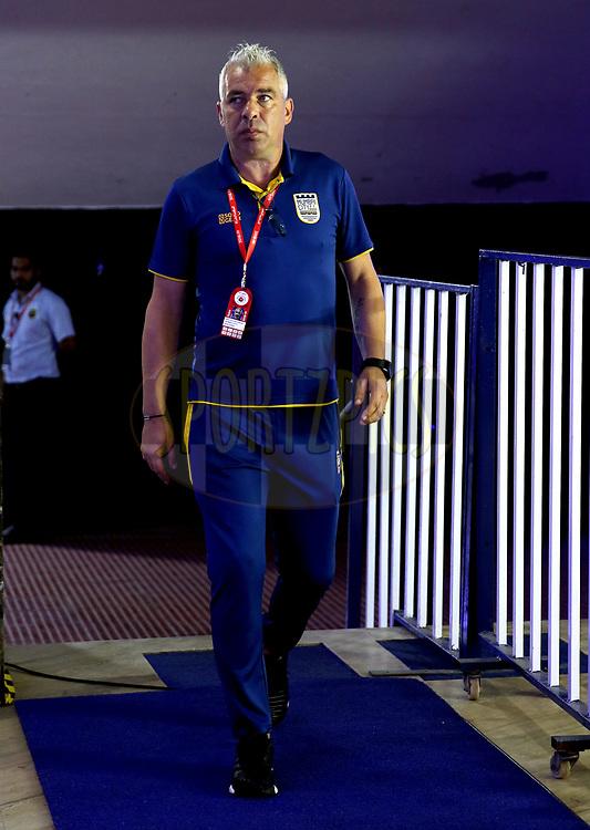 Mumbai City FC Head Coach, Jorge Costa arrives for the match 27 of the Hero Indian Super League 2018 ( ISL ) between Chennaiyin FC  and Mumbai City FC  held at the Jawaharlal Nehru Stadium, Chennai, India on the 3rd November 2018<br /> <br /> Photo by: Sandeep Shetty /SPORTZPICS for ISL