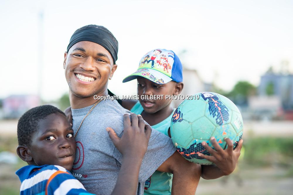 Kenyon Graham <br /> <br /> St Joe mission trip to Belize 2019. JAMES GILBERT PHOTO 2019