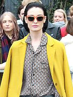 Erin O'Connor, London Fashion Week A/W17 - Topshop Unique, Tate Modern, London UK, 19 February 2017, Photo by Brett D. Cove