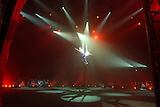 Bellucci Circus performed in Tel Aviv, Israel in April Trapezes