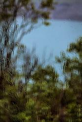 THEMENBILD - Regen auf einer Fensterscheibe, aufgenommen am 16. Juni 2017, Kaprun, Österreich // Rain on a Window on 2017/06/16, Kaprun, Austria. EXPA Pictures © 2017, PhotoCredit: EXPA/ JFK
