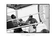 Muhammad Ali vs Al 'Blue' Lewis at Croke Park, Dublin.<br /> <br /> 19th July 1972<br /> 19/07/1972