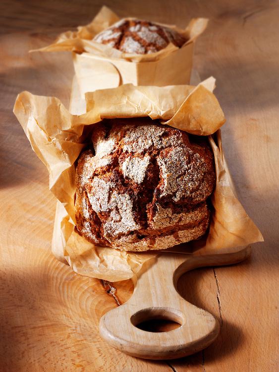 Artisan organic Deli Rye loaf