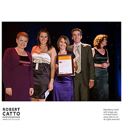 The Human Resources Institute of New Zealand's annual awards for 2007 are celebrated at the Duxton Hotel Ballroom in Wellington, New Zealand in February '08.