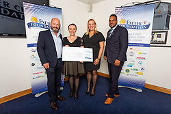 The Force Charity receives their cheque - Ryan Hiscott/JMP - 06/08/2018 - RUGBY - Sandy Park - Exeter, England - Exeter Chiefs Season Launch Dinner