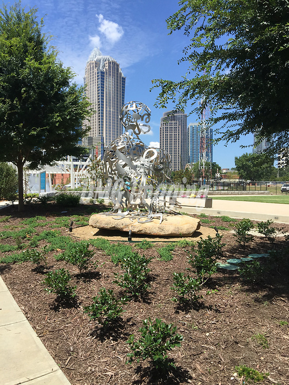 A few looks at Charlotte, North Carolina parks, and downtown area