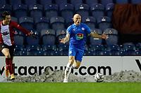 Sam Minihan. Stockport County FC 2-2 Altrincham FC. Vanarama National League. 2.1.21