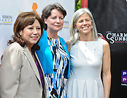 Hilda Solis, Theresa Shaver and Susan Axelrod