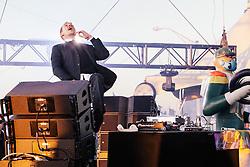 Major Lazer performs at The Treasure Island Music Festival - San Francisco, CA - 10/19/13