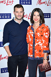 Jamie Dornan and Amelia Warner attend the Mum's List premiere at the Curzon Mayfair, London.