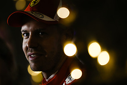 April 7, 2018 - Sakhir, Bahrain - VETTEL Sebastian (ger), Scuderia Ferrari portrait during 2018 Formula 1 FIA world championship, Bahrain Grand Prix, at Sakhir from April 5 to 8  I  Motorsports: FIA Formula One World Championship 2018, Grand Prix of Bahrain, , #5 Sebastian Vettel (GER, Scuderia Ferrari) (Credit Image: © Hoch Zwei via ZUMA Wire)