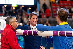 Becker Otto, Deuser Daniel, Ahlmann Christian, GER<br /> LONGINES FEI World Cup™ Finals Gothenburg 2019<br /> © Dirk Caremans<br /> 04/04/2019