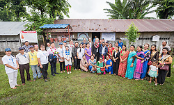 14 September 2018, Damak, Nepal: Members of refugee self-help groups meet Lutheran World Federation general secretary Rev. Dr Martin Junge at the Beldangi refugee camp in the Jhapa district of Nepal, which hosts more than 5,000 Bhutanese refugees. On 12-19 September 2018, the Lutheran World Federation General Secretary Rev. Dr Martin Junge visits Nepal. He will participate in the 75th anniversary celebrations of the Nepal Evangelical Lutheran Church, an LWF member church, and visit development projects run by the church. He will also visit the LWF country program, which is involved in humanitarian relief and development work in a range of areas, supporting refugees, offering relief work to those most affected by the 2015 earthquake, flood victims, among other projects.