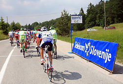 Mountain finish during 1st stage of the 15th Tour de Slovenie from Ljubljana to Postojna (161 km) , on June 11,2008, Slovenia. (Photo by Vid Ponikvar / Sportal Images)/ Sportida)