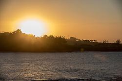 Sunset Over Makaluapuna Point