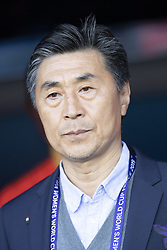 Chinese Coach Jia Xiuqan (CHN) during the match of 2019 FIFA Women's World Cup France group B match between South Africa and China, at Parc Des Princes stadium on June 13, 2019 in Paris, France. Photo by Loic Baratoux/ABACAPRESS.COM