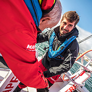 Lisbon stopover, Pro-Am race 2 on board Mapfre Photo by Ugo Fonolla/Volvo Ocean Race. 02 November, 2017.