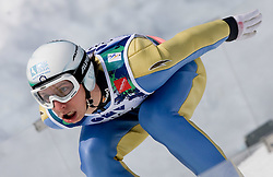 COLLOREDO Sebastian, G.S. Fiamme Gialle, ITA  competes during Flying Hill Individual Trial Round at 3rd day of FIS Ski Flying World Championships Planica 2010, on March 20, 2010, Planica, Slovenia.  (Photo by Vid Ponikvar / Sportida)