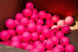 Balls during Slovenia Long Drivers European Tour  Championship on July 5, 2014 in  Golf Arboretum Ljubljana, Volcji Potok, Slovenia. Photo By Vid Ponikvar / Sportida