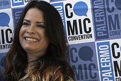 September 22, 2017 - Palermo, Italy - Holly Marie Combs, American actress with Piper Halliwell of the TV series ''Streghe'', host of honor of the Palermo Comic Convention. (Credit Image: © Antonio Melita/Pacific Press via ZUMA Wire)