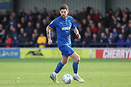AFC Wimbledon midfielder Anthony Wordsworth (40) dribbling during the EFL Sky Bet League 1 match between AFC Wimbledon and Doncaster Rovers at the Cherry Red Records Stadium, Kingston, England on 9 March 2019.