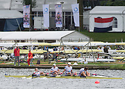 Amsterdam. NETHERLANDS.  GBR W4X. Bow. Kristina STILLER, Beth RODFORD, Victoria MEYER-LAKER and Lucinder GOODERHAM.  De Bosbaan Rowing Course, venue for the 2014 FISA  World Rowing. Championships.  . 13:22:30  Saturday  30/08/2014  [Mandatory Credit; Peter Spurrier/Intersport-images]