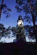 Lighthouse, Fernandina Beach, Amelia Island, Florida<br />