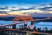 Memphis, Tennessee, Mississippi River, Hernand De Soto Bridge, Connection Between Memphis And Arkansas, Interstate 40