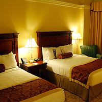 USA, Florida, Orlando. The Rosen Shingle Creek Resort, 2 queen-bedded room.