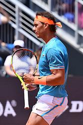 May 16, 2019 - Roma, Italia - Foto Alfredo Falcone - LaPresse.16/05/2019 Roma ( Italia).Sport Tennis.Internazionali BNL d'Italia 2019.Rafael Nadal (esp) vs Jeremy Chardy (fra).Nella foto:Rafael Nadal..Photo Alfredo Falcone - LaPresse.16/05/2019 Roma (Italy).Sport Tennis.Internazionali BNL d'Italia 2019.Rafael Nadal (esp) vs Jeremy Chardy (fra).In the pic:Rafael Nadal (Credit Image: © Alfredo Falcone/Lapresse via ZUMA Press)